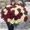 51 роза красно-белый микс