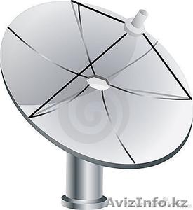 СПУТНИКОВОЕ ТВ В АЛМАТЫ . УСТАНОВКА , НАСТРОЙКА СПУТНИКОВОГО ТВ - Изображение #1, Объявление #331704