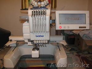 Продам вышивальную машину brother PR-600-2 (б/у) - Изображение #1, Объявление #849789