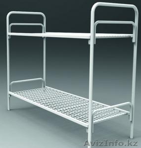 Кровати трёхъярусные для времянок, кровати металлические двухъярусные оптом - Изображение #5, Объявление #1436416
