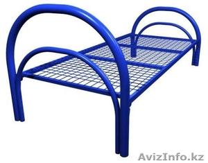 Кровати трёхъярусные для времянок, кровати металлические двухъярусные оптом - Изображение #2, Объявление #1436416