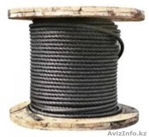 Трос для подъемных установок металлургической промышленности, на судах, лесоспла - Изображение #1, Объявление #1481455