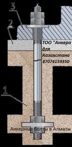 Болты с загибом анкера с фундаментной плитой - Изображение #2, Объявление #1685971