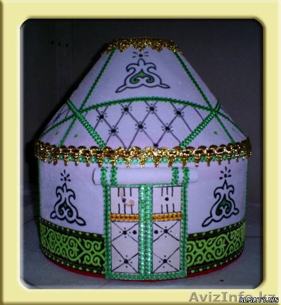 Шкатулка Юрта Тойбастар в Алматы, продам, куплю, всякая всячина в Алматы - 484519, almaty.avizinfo.kz