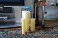 интерьерные свечи ,  больших размеров