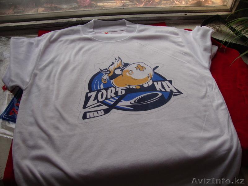 шелкография логотипов на футболках