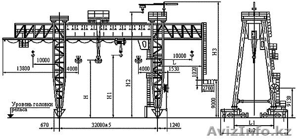 Схема электрическая кран к100