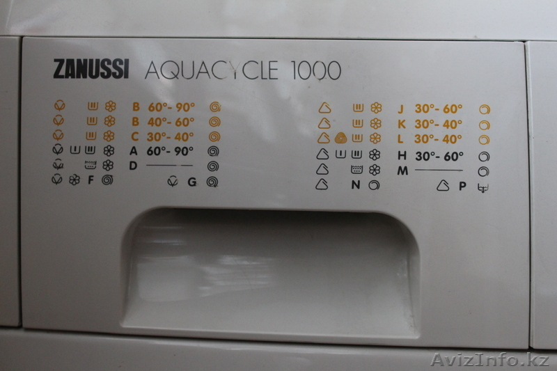 Zanussi aquacycle 1000 ремонт видео