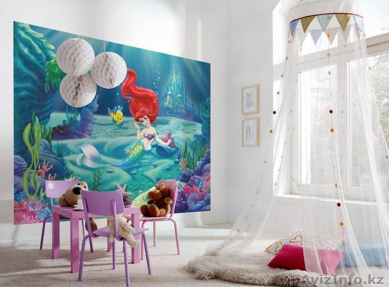 Фотообои для детской комнаты фото в интерьере