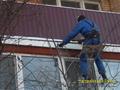 Установка балконных козырьков в Алматы