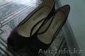 Замшевые туфли лиловые