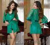 Зеленый кружевной халат с пеньюаром , Объявление #1075142
