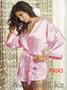 Розовый шелковый халат F4043-, Объявление #1075163