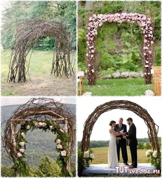 Сделать арку для свадьбы