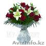 букет цветов срочная доставка в алматы заказ можно сделать по телефону