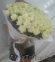 Букет 101 белая роза 70 см - Изображение #2, Объявление #1228658