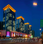 Архитектурная подсветка зданий Алматы