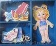 Кукла пазл деревянная наряжалка магнитная в ассортименте 46163-1