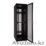 Шкаф напольный 22U, 600*800*1200, цвет чёрный, передняя дверь перфорированная, Объявление #1294708