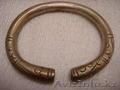 старинный серебренный браслет