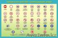 Плакаты по ПДД,  по устройству трактора,  автобуса и с/х машин