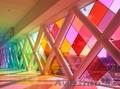 Изменение цвета стеклянного здания, Объявление #1342357