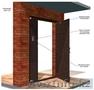 Изготавливаем  металлические,  домофонные двери