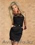 Черное Платье с кружевом, Объявление #1362425
