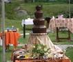 Шоколадный и фруктовый фонтан