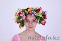 Цветочные венки и весенние платья