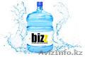 Наша компания производит питьевую бутилированную воду торговой марки «BIZ».