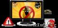Чистка лечение удаление вирусов, рекламы на Вашем компьютере ноутбуке, Объявление #1505657