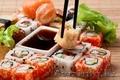 Доставка суши,  роллов,  пиццы,  горячих блюд,  салатов в Алматы.
