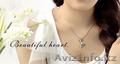Продам серебряный ювелирные набор - Серьги + Ожерелье (Heart) - Изображение #4, Объявление #1562879
