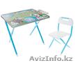 """Набор мебели стол+стул Дэми """"№1"""", (голубой, Далматинцы), Объявление #1585741"""