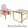"""Стол-стул для кормления Вилт """"Бутуз"""", (розовый)  - Изображение #2, Объявление #1586191"""