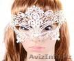 Белая маска, ажурная,кружевная, Объявление #1592523