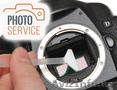 Чистка матрицы (сенсора) цифрового зеркального фотоаппарата