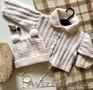 Шапочка и кофта  на малыша от 5 месяцев, Объявление #1597237