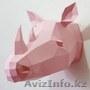 Объёмные 3D фигуры из бумаги. Декор, интересный и оригинальный подарок - Изображение #2, Объявление #1609814
