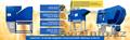 Сепаратор зерна АСМ, калибровка семян, оборудование для очистки зерна, Объявление #1609632