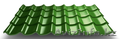 """Металлочерепица """"Монтеррей"""" толщиною 0,45 мм, Объявление #1629749"""