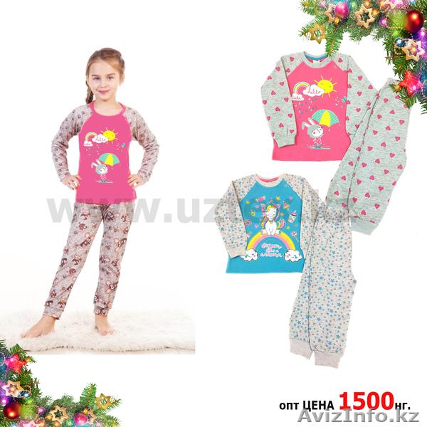Пижама для девочки ОПТОМ - Изображение  1 67b584407b2ad