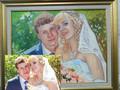 Свадебный портрет по фото ручной работы за доступную цену. - Изображение #5, Объявление #1644827