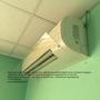 Экран для кондиционера,  отражатель,  дефлектор